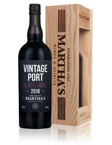 Martha's Porto Vintage 2016 Black Label